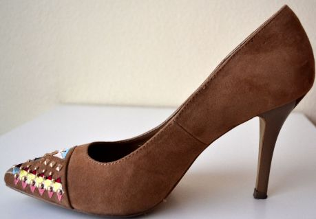 zapato blanco punta etnico 2