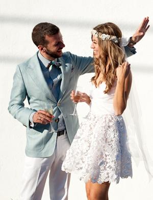 bodas en la playa triunfa el estilo hippie chic le