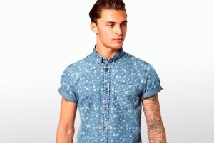 camisa manga corta verano hombre 2013