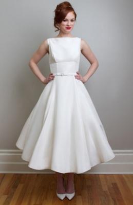 Bodas estilo mad men los a os 50 arrasan le cabinet de for 50 s pin up wedding dresses