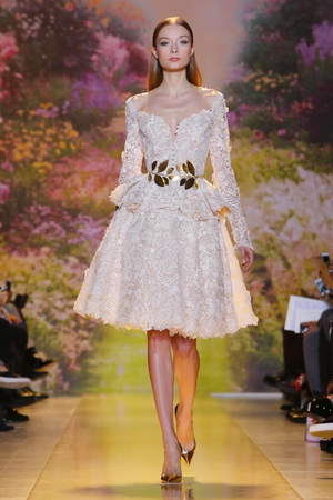 Zuhair Murad Fashion Show Couture Collection Spring Summer 2014 in Paris
