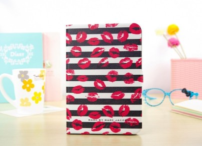 1-piece-lot-Marc-Hot-Lip-Kiss-Leather-Case-for-Apple-iPad-Mini-Strips-Kiss-Cover